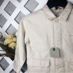 Zara Baby Boys Cream Outerwear Size 3/4